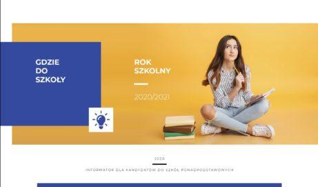 Informator dla kandydatów do szkół ponadpodstawowych Miasta Ostrołęki